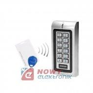 Szyfrator ZS815 z czytn. RFID kart  ORNO IP44 1przek.wąski