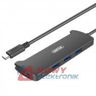 HUB USB-C 3.1 3xUSB UNITEK V300A + HDMI