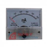 Miernik analog.amper. 0.5A+bocz. kwadratowy, amperomierz 500mA