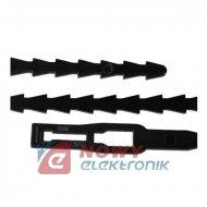 Opaska kablowa otwieralna czarna ST-170/5.4mm