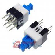 Przełącznik PB605A/PL bistabilny miniaturowy 6pin