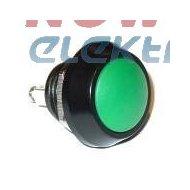 Przycisk GQ12-B/A zielo.przycisk alum/12mm/IP65/2A/36VDC  chwilowy