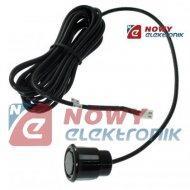 Czujnik Parkowania-Sensor 2605 uniwerslany czarny kabel 2,5m