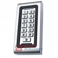 Szyfrator DT-601MET z czytnikiem RFID karty lub pastylki IP68 + dzwonek