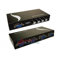 Sumator VGA 4/1 Przełącznik Switch