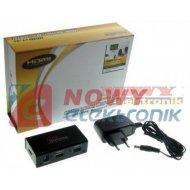 Rozgałęźnik HDMI 1x2 MRS 1.4a 4K Professional  wzmacniacz
