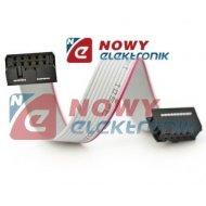 Kabel IDC10 żeńsko/żeński 30cm połączeniowy do płytek stykowych