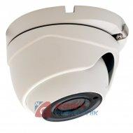 Kamera HD-UNI.NE-202 2MPX IR 2,8mm kopułka Biała TVI/AHD/CVI/CVBS