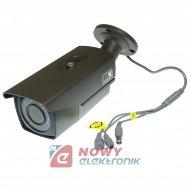 Kamera HD-UNI.NE-402 2MPX 2,8-12mm Tuba Szara TVI/AHD/CVI/CVBS.