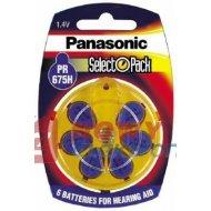 Bateria AE675 PANASONIC PR675H 555mAh Do aparatów słuchowych