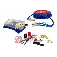 Zestaw montażowy CAR-Audio LTC02 Kpl.kabli do wzmacniacza samoch