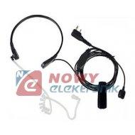 Mikrofon + słuch.do UV-3R+/UV-5R /UV-82 do BAOFENG Laryngofon