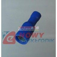 Konektor okr.żeń.izol. KFOIB-5 niebieski gniazdo