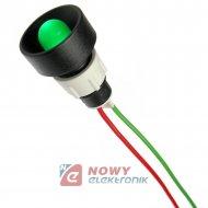 Kontrolka LED FI-10/12V-24V ziel zielona AC/DC