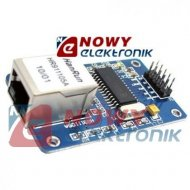 Moduł Ethernet LAN ENC21J60 chipset ENC28J60 sieciowy ARDUINO KLON