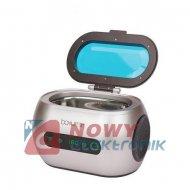 Myjka ultradźwiękowa 600ml 35W BA-3060 stal nierdzewna, Timer