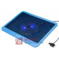 Podstawa Notebook chłodząca niebieska do PC typu laptop