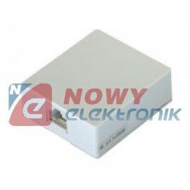 Puszka nat. PN1-8, typ1(na wt.8p gniazdo internetowe RJ45 LAN