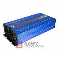 Przetwornica 12V/230V3000/6000W sinus IPS-6000S