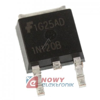 HGTD1N120BNS  IGBT    Tranzystor 1200V 5,3A SMD TO252AA