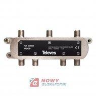 Spliter rozgałeźnik 1/6 TELEVES do DVB-T antenowy sumator