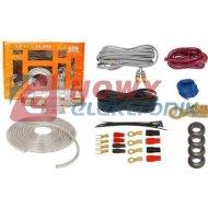 Zestaw montażowy CAR-AudioLXZ002 Kpl.kabli do wzmacniacza samoch.