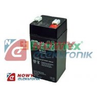 Akumulator 4V 4,5Ah żelowy BATIM dł:48 gł:46 wys:101/106 AGM
