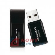 Karta sieciowa RAD. USB 300Mbps MERCUSYS (WIN XP,7,8,10)