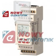 Przekaźnik czasowy PCM07/U 24-230V AC/DC 16A ZAMEL