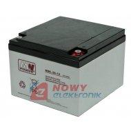Akumulator 12V-26Ah MWP 26-12B  Long Life