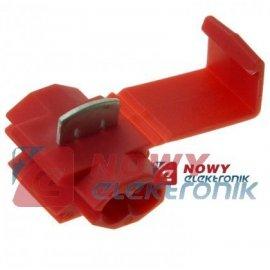 Szybkozłączka-R (YA887) 0,5-1mm czerwona
