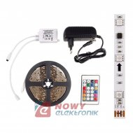 Taśma LED ZESTAW 5050 RGB MAGIC IP20 cyfrowa 5m/150L+zasilacz kpl.