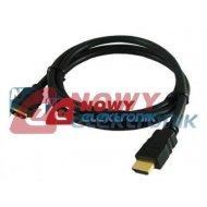 Kabel HDMI - przedłużacz 5m wt-gn