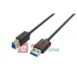 Kabel USB wt.A/wt.B 1,5m drukark USB3.0 UNITEK