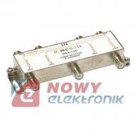 Spliter SAT 1/6 DSS116 5-2400MHz DC Pass
