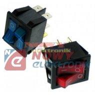 Przełącznik podśw.podwój.230V AC IRS