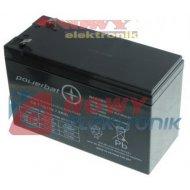 Akumulator 12V-7Ah     POWERBAT/ żelowy