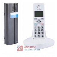 Zestaw domofonowy bezprz.D102W VIDOS tele-domofon bezprzewodowy