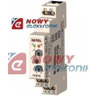 Przekaźnik czasowy PCM06/U      12-240V AC/DC wielofunkcyjny ZAMEL