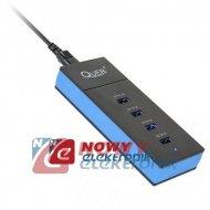 Ładowarka USB x4 stacja + QC 6A Quick Charge  zasilacz port