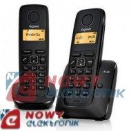 Telefon Siemens A120 DUO   (-) Bezprzewodowy/ dwie słuchawki