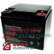 Akumulator 12V-40Ah  DREAM POWER żelowy