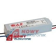 Zasilacz ZI LED 24V/4,2A IP67 GPV-100-24 Impulsowy