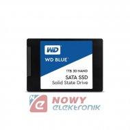 """Dysk SSD SATA3 2.5"""" 1TB      WD Blue"""