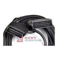 Kabel SCART wt.-gn. 3.0m Przedłużacz