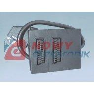 Rozgałęźnik SCART 1wt-2*gn.21pin