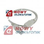Kabel USB 2.0 wt.A-gn.A 0,5m VIT DSKU24 VITALCO