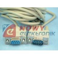 Kabel DB09M/DB09F 1.8m