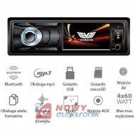 Radio samoch.VORDON AC-3101B AV Jukon, Bluetooth, USB/SD/AUX/AV wej. AV