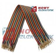 Kabel do płytek styk.40p m/m 35c połączeniowe  męsko-męski  35cm